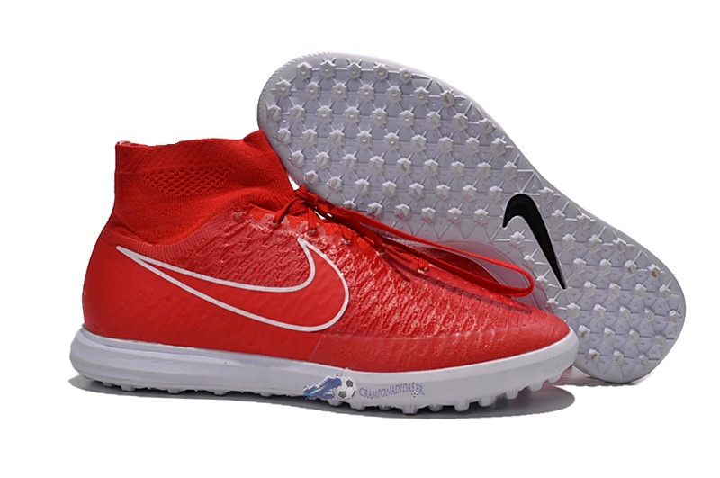 Chaussures De Football Nike MagistaX Proximo TF Rouge 2019 Nouveaux