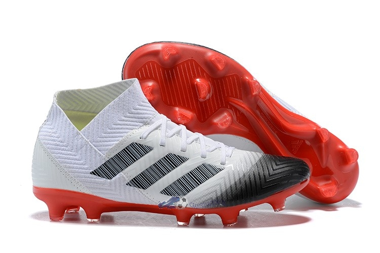 speical offer cheap for discount super cute Acheter Chaussures De Football Adidas Nemeziz 18.1 FG Blanc ...