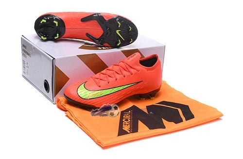 Chaussures De Football Nike Mercurial Superfly VI Elite FG Jaune Orange 2019 Nouveaux