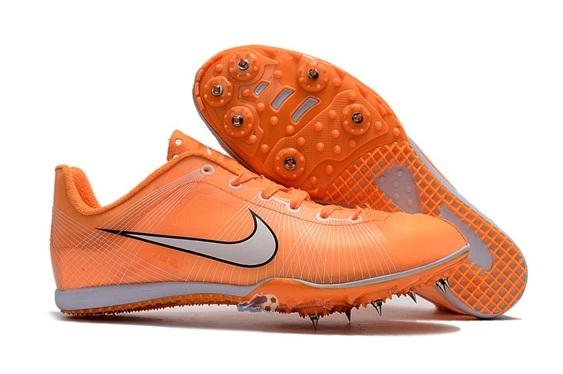 Chaussures De Football Nike Sprint Spikes Shoes SG Orange 2019 Nouveaux