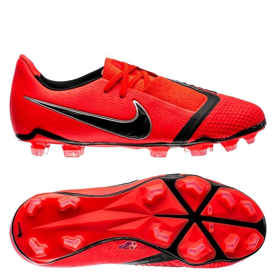 Chaussures De Football Nike Phantom Venom Elite Enfant FG Game Over Rouge 2019 Nouveaux