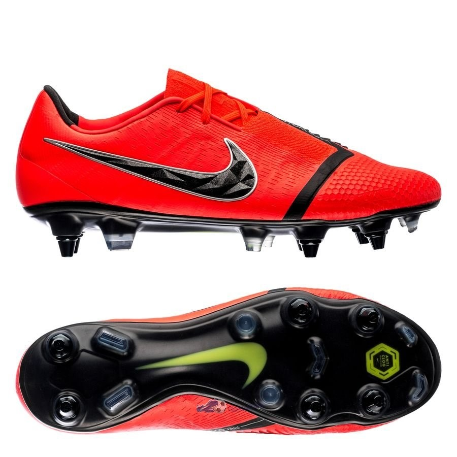 Chaussures De Football Nike Phantom Venom Elite SG PRO Game Over Noir Rouge 2019 Nouveaux