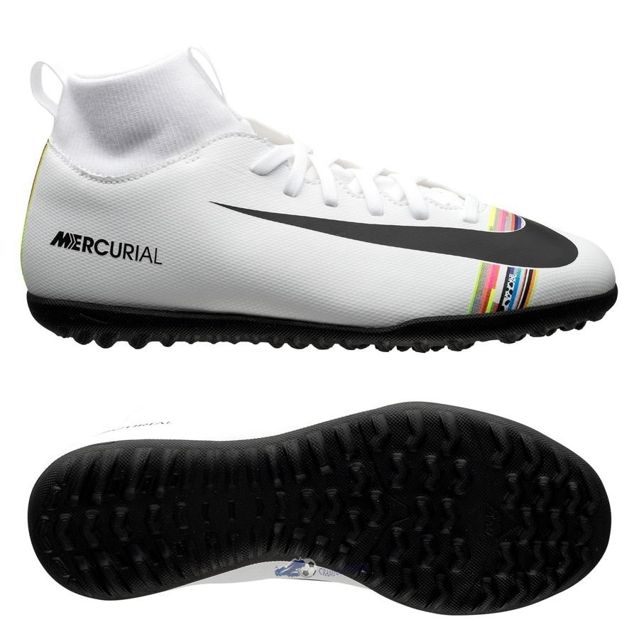 Chaussures De Football Nike Mercurial Superfly 6 Club TF Blanc 2020 Nouveaux
