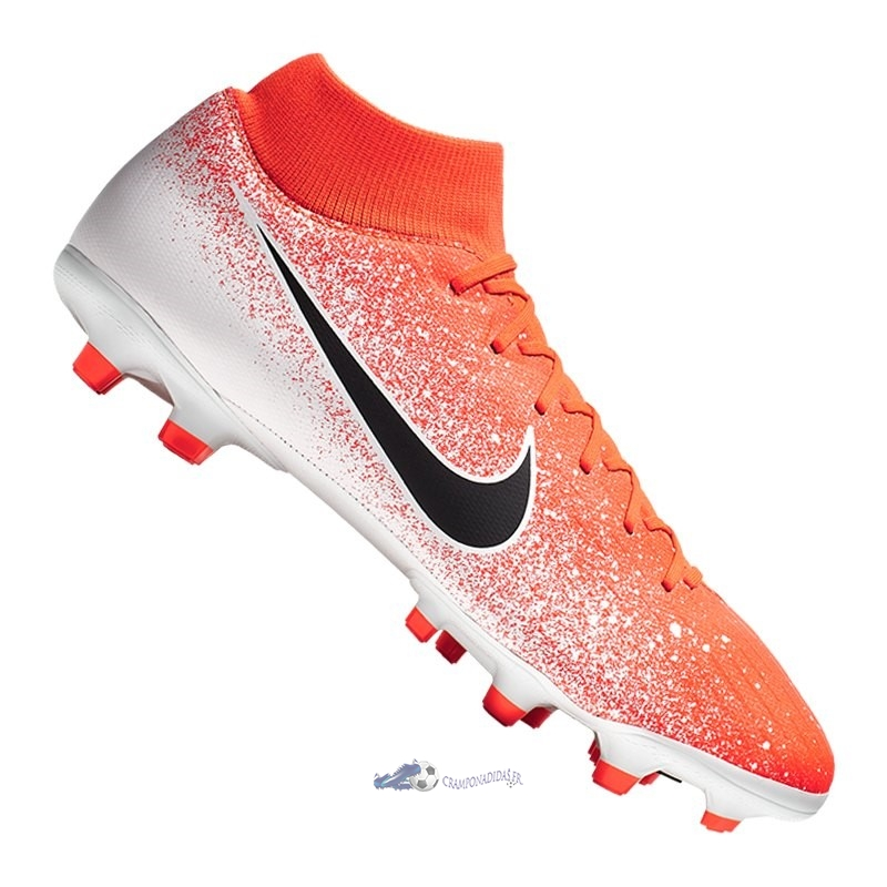 Chaussures De Football Nike Mercurial Superfly VI Academy MG Orange 2020 Nouveaux