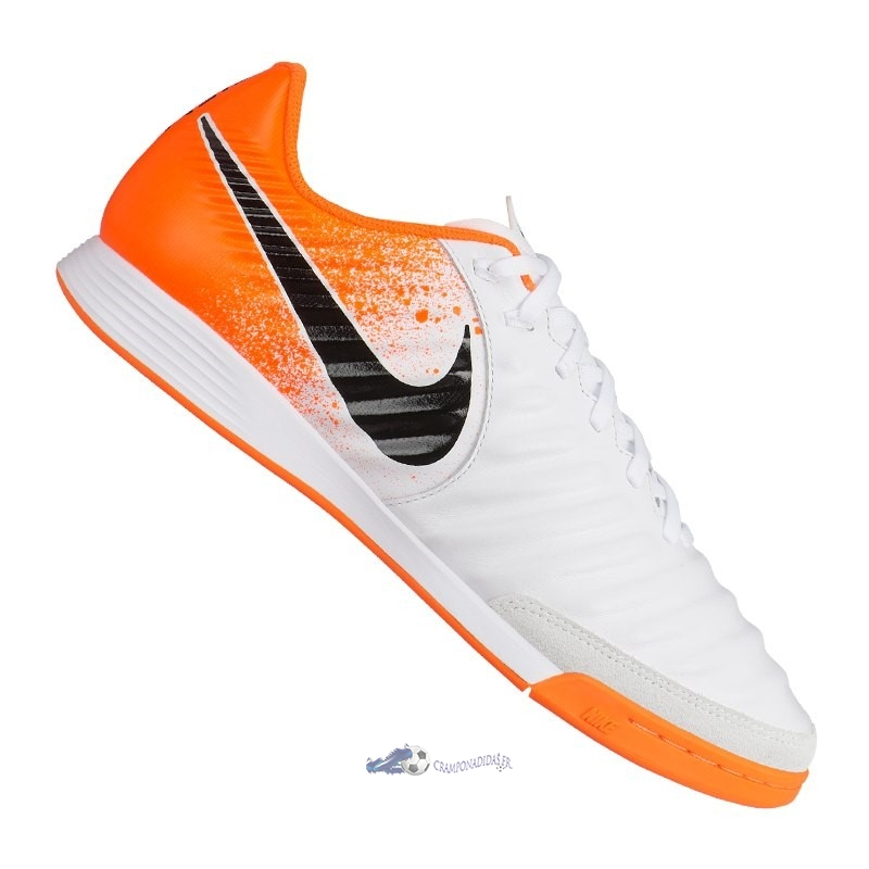 Chaussures De Football Nike Tiempo LegendX VII Academy IC Orange 2020 Nouveaux