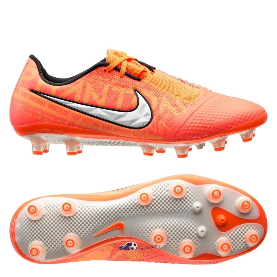 Chaussures De Football Nike Phantom Venom Elite AG PRO Fire Orange 2020 Nouveaux