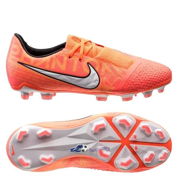 Chaussures De Football Nike Phantom Venom Elite FG Fire Orange 2020 Nouveaux