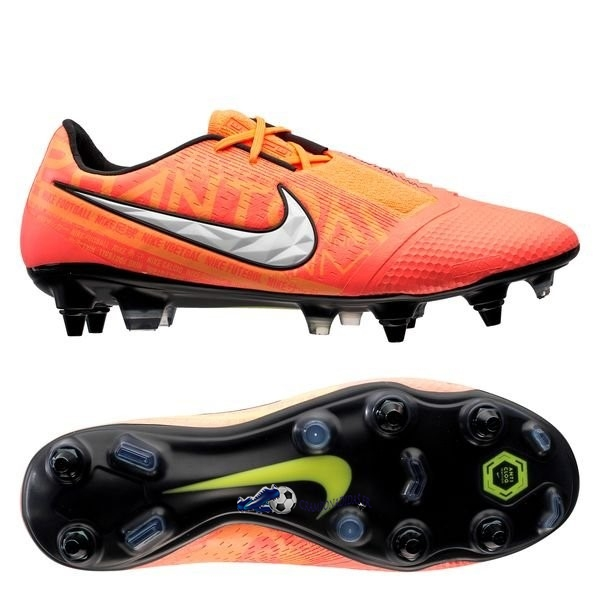 Chaussures De Football Nike Phantom Venom Elite SG PRO Anti Clog Fire Orange 2020 Nouveaux