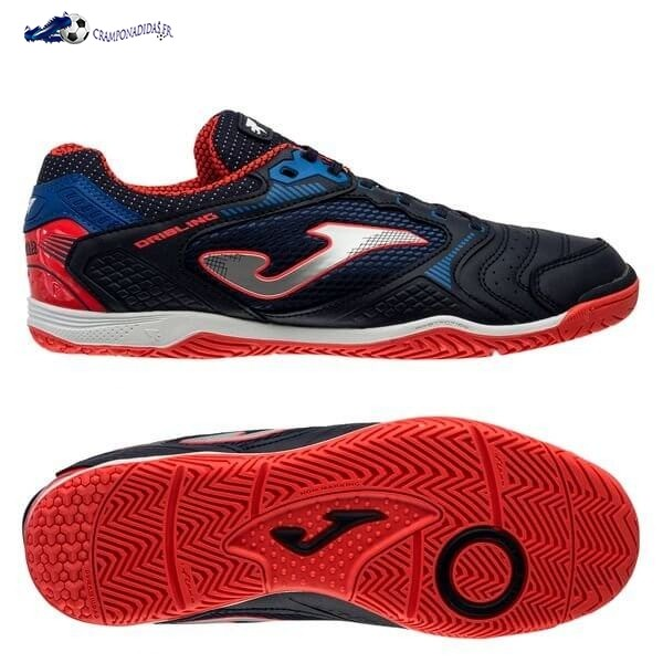 Chaussures De Football Joma Dribling IN Marine Rouge 2020 Nouveaux